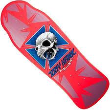 Powell Peralta Tony Hawk Skateboard Decks by Powell Peralta Bones Brigade Tony Hawk Reissue Deck In Stock At