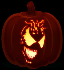 Spiderman Pumpkin Carving by Super Villains Orange And Black Pumpkins