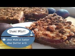zwetschgenkuchen ohne mehl zucker vegan glutenfrei laktosefrei
