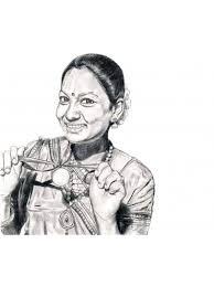 Pencil Sketch Portrait Hand Sketch