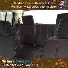 FRONT & REAR Seat Covers (NN07HB+R) - Dingo Trails