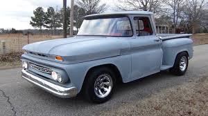 1961 Chevrolet Stepside Truck 350 Engine With 400 Automatic, Lowered ...