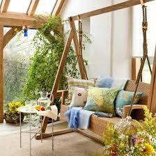 terrassen und gartengestaltung mit schaukel freshouse