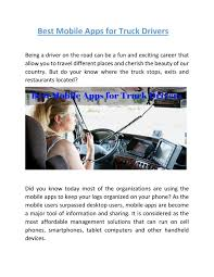 Best Mobile Apps For Truck Drivers By Loadboardcanada - Issuu Mercedesbenz Apps Commercial Transport Products Services Bp Australia Mobile Services Truckstopcom Unfortunately App Has Stopped Fix Howtosolveit Youtube This Morning I Showered At A Truck Stop Girl Meets Road Stops Near Me Trucker Path Booster Get Gas Delivered While You Work The 50 Best For Travel In 2017 Leisure Inspirational Google Maps Nearest Gas Station Giant Now Lets You Add A Along Your Route Check Longhaul Truck Driver And The Women He Killed
