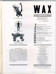 WAXPAPER June 8 1979 Volume 4 Number 6 No Place Warner Brothers Records