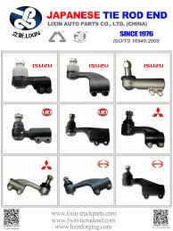 100 Hino Truck Parts 454202800 454302800 Tie Rod End LB Manufacturers And