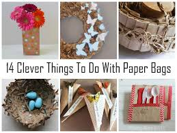 14 Clever Things To Do With Paper Bags