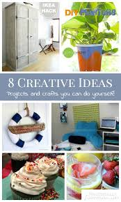 8 Creative Ideas A Roundup Of Projects And Crafts You Can Do Yourself