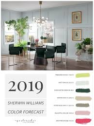 2019 Paint Color Forecast From Sherwin Williams Painting People In