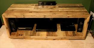 Pallet Entertainment Center Idea
