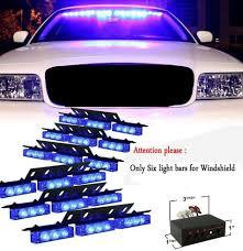 100 Strobe Light For Trucks CYAN SOIL BAY 54 LED Emergency Vehicle S Bars Warning