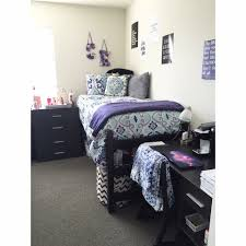 West Chester University Dorm Room 2015 2016 Blue White Grey And Purple