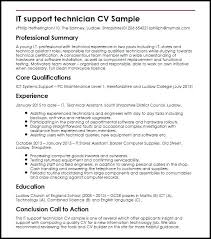 It Support Resume Sample For Teachers In The Philippines