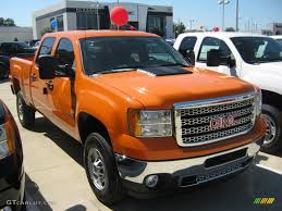 2011 Fleet Tangier Orange GMC Sierra 2500HD Work Truck Crew Cab ... Fleet Cars Business Commercial Vehicles Gm Canada Houstons Only Gmc Dealer Trucks To Offer Clng Engine Option On Chevy Hd Trucks And Vans Wyoming Halladay Motors Cheyenne Bangshiftcom Crackerbox Military Unveils Of Fuel Cell In Hawaii Rivard Buick Tampa Fl Vehicles Georgetown Chevrolet Ontario