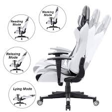 Leather Gaming Chair PC Computer Chair (White) - Exploner Pin By Small Need On Merax Gaming Chair Review Executive Office Shop Essentials Ofm Ess3086 Highback Bonded Leather Pc Computer White Exploner Quickchair Pu 3760 Ac Fs Slickdealsnet Office Swimming Liftable Boss Home Game Personalized Armchair Sofa Fniture Of America Portia Idfgm340cnac Products Arozzi Milano Ergonomic Whiteblack Milanowt Staples Aerocool Ac120 Air Blackred Corsair T2 Road Warrior Pu3d Pvc Blackred Cf Adults Or Kids Cyber Rocking With Ingrated Speakers Ac60c Air Professional Falcon Computers