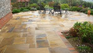 how to build a stone patio on your own hirerush blog