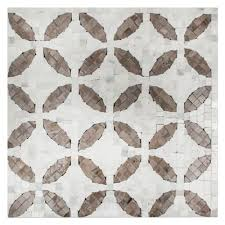 decatur taupe mosaic 12 x 12 in marble mosaics tile the tile