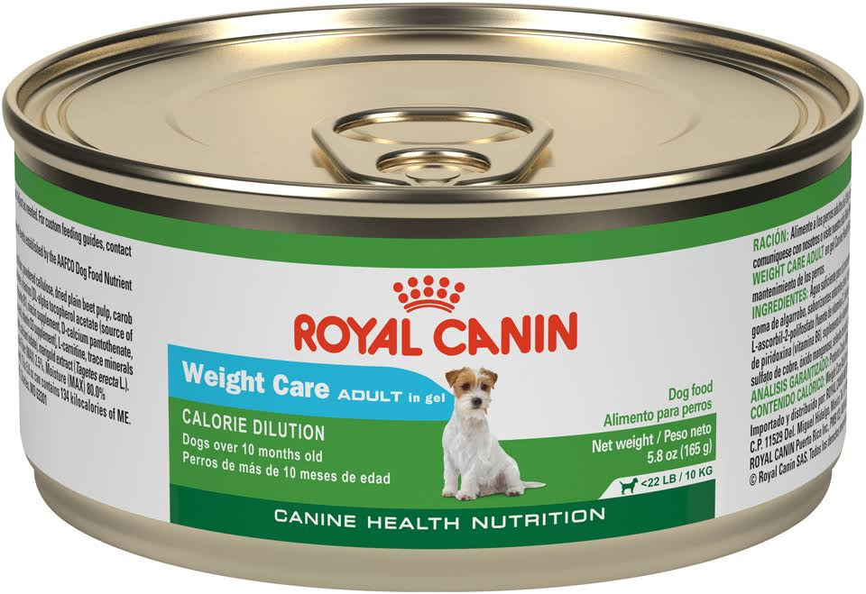 Royal Canin Weight Care Canine Health Nutrition Canned Dog Food - Adult, Case of 24