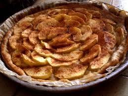 dessert aux pommes rapide la tarte aux pommes et aux épices une recette simple et rapide