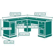 Sauder L Shaped Desk Instructions by Sauder Barrister Lane L Shaped Desk 418270 U2013 Sauder The