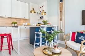 modern kitchen in blue ideas with the trend color classic