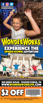 WonderWorks — Smoky Mountain Coupon Book Orlando Deals Offers Discounts For Fl Lumberjack Feud Coupons And 3 Off Each Ticket 10 Things Not To Miss At Nderworks Myrtle Beach Mom Files Attractions Smoky Mountain Coupon Book Hatfield Mccoy Dinner Show 5 Wristband Com Coupon Code In Russia 24 Hour Wristbands Blog Harbor Freight Tools Get Fresh Elmira Corning Ny By Savearound Issuu Wonderworks Toy Store Van Heusen Outlet Allaccess Tickets Groupon