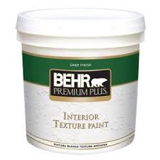 Homax Ceiling Texture Home Depot by Behr Premium Plus 2 Gal Sand Finish Flat Interior Texture Paint
