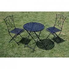 ensemble table et chaise en fer forgé à prix bas en promo