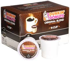 Dunkin Donuts Pumpkin Syrup Nutrition Facts by Dunkin Donuts K Cups Original Flavor Medium Roast Box Of 12