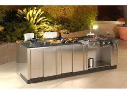 Outdoor Kitchen Set Modular Outdoor Kitchen Contemporary In
