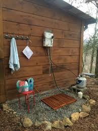 Outdoor Shower At The Mountain Cabin. Eccotemp L5 Tankless Water ... Barns Outhouse Plans Pdf Pictures Of Outhouses Country Cool Design For Your Inspiration Outhousepotting Shed Coop Build Backyard Chickens Free Backyard Garden Shed Isometric Plan Images Cottage Backyard Kiosk Thouse Exchange Door Nyc Sliding Designs Fresh Awning Outdoor Shower At The Mountain Cabin Eccotemp L5 Tankless Water Keter Manor Large 4 X 6 Ft Resin Storage In Mountains Northern Norway Dunnys Victorian And Yard Two Up Two Down Terrace House