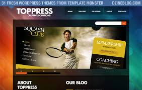 31 Fresh Wordpress Themes From Template Monster