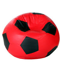 Bean Bag (football Shape) Xl Size Red And Black (filled) | Elala Tradesk Xxxl Chair Without Beans Evolve Kids Pu Soccer Ball Beanbag Cover 150l Football Cozy Filled Bean Bag Sack Comfort College Dorm Senarai Harga Opoopv Inflatable Sofa Cool Design Ball Bag Chair 3d Model In 3dexport For And Players Orka Classic Teal White Sports Xxl Research Big Joe Small Comfy Bags Xl With Best Offer How Do I Select The Size Of A Bean Much Beans Are Cotton Arm Child