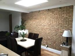 Kitchen Dining Room Feature Wall Modern Colours For Rustic By