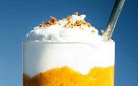 Pumpkin Pie Mousse Parfait by Pumpkin Pie Parfait With Coconut Whipped Cream U2014 Natural