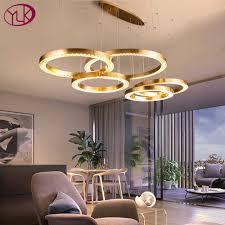 moderne led kristall kronleuchter für wohnzimmer luxus