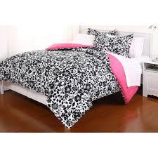 Queen Size Bed Sets Walmart by Amelia Reversible In Bag Bedding Set Walmart Com Bc61c7d5a5f1 1