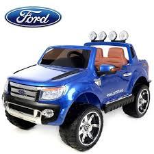 ford voiture électrique enfant 4x4 ranger 12v 2 places