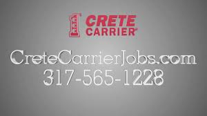 100 Truck Driving Jobs Indianapolis 3175651228 Crete Carrier YouTube