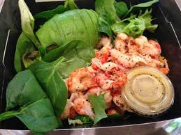 pret cuisine avacado crayfish salad picture of pret a manger