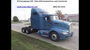 2009 KENWORTH T660 WITH APU FOR SALE FROM Used Truck Pro 866-481 ...