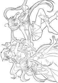 Coloring Pages Mermaid Melody 42