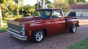 100 Chevy Stepside Truck For Sale SOLD 1976 Chevrolet C10 Pickup For Sale By Auto