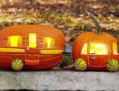 Minion Carved Pumpkins by Dollar Store Crafter Use A Dollar Store Plastic Pumpkin As A Mold