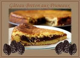 recette de cuisine gateau recette de cuisine gâteau breton aux pruneaux chezmamielucette