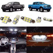 100 Led Interior Lights For Trucks 5x White LED Interior Map Dome Lights Package Kit For 20052015