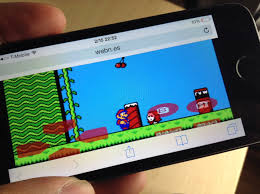 webNES a browser based NES emulator for the iPhone and mobile