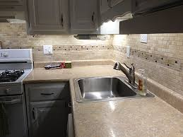 modern kitchen room decoration with cabinet led lighting kit