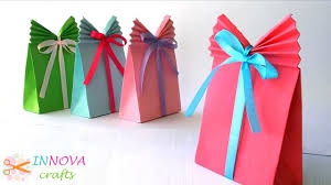Crafts Paper GIFT BAG Easy