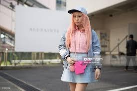 EUNBI Attends The Allsaints Presentation During Tokyo Fashion Week Wearing A Vintage Gun Bag Forty